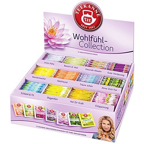 Teekanne Wohlfühl-Collection Box 180 einzeln aromageschützt umhüllte Tassenportionen