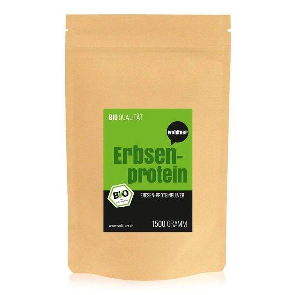 Wohltuer Bio Erbsenprotein 1,5 Kg Beutel