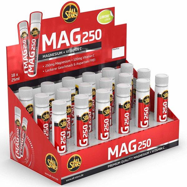 All Stars Mag 250 Magnesium, 18 Ampullen