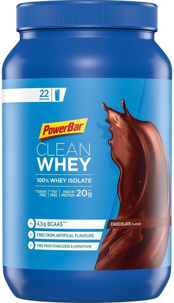 Powerbar Protein Plus 100%* Clean Whey Isolate Eiweiß 570g Dose