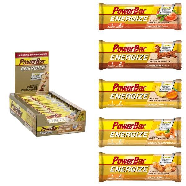 PowerBar New Energize Bar 25 x 55g Energy Riegel Box