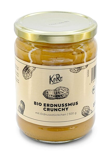 KoRo - Bio Crunchy Erdnussmus - 500 g