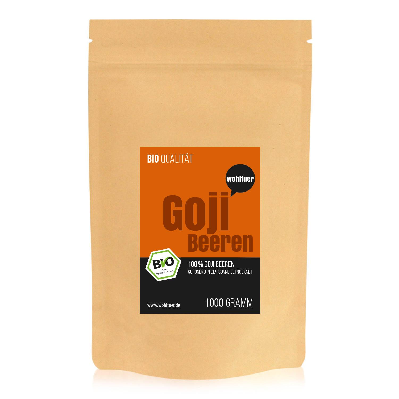 wohltuer bio goji beeren superfood 1000g vitamine mineralien di tdefinition special fitness. Black Bedroom Furniture Sets. Home Design Ideas