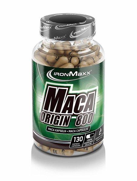 Ironmaxx Maca Origin 800, 130 Maca Kapseln a.910mg