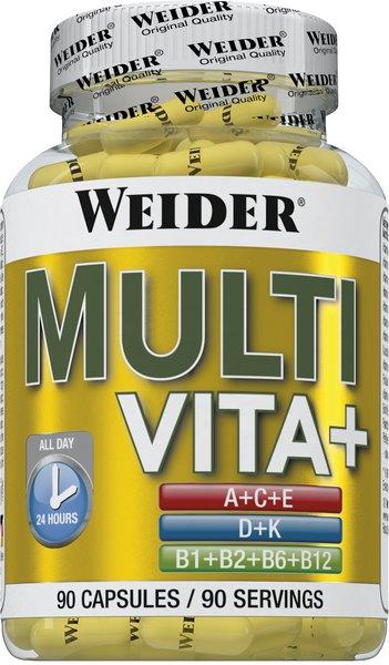 Weider Multi Vitamine + Special B-Complex, 90 Kapseln