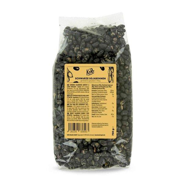 KoRo Schwarze Sojabohnen geröstet & gesalzen 750 g