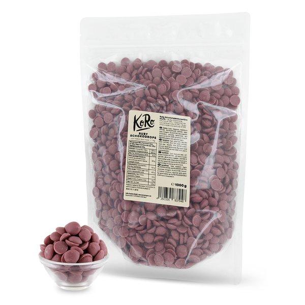 KoRo - Ruby Schokodrops 1 kg