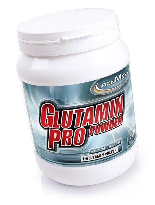 ironmaxx 100 reines l glutamin pro 500g dose pulver glutamin sporternahrung special fitness