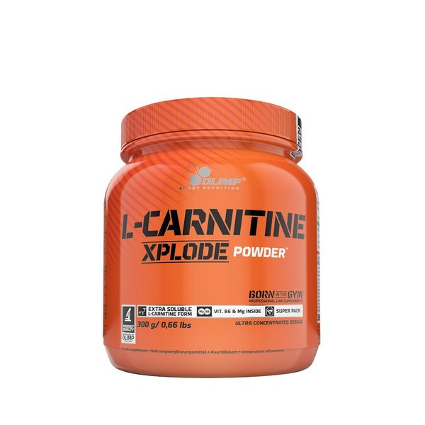 olimp l carnitine xplode powder 300g dose