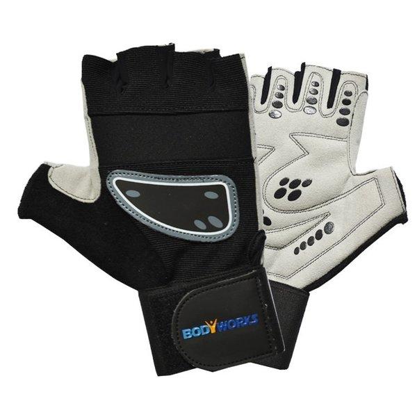 Bodyworks Best Supergrip Training Handschuhe mit Bandage