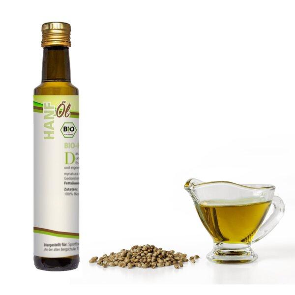 Mynatura Bio Hanföl kaltgepresst Vegan 250ml