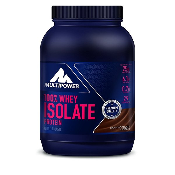 Multipower 100% Whey Isolate Protein (725g)