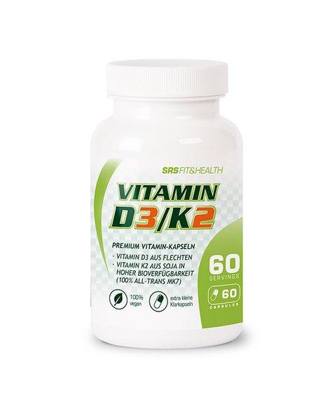 SRS Vitamin D3/K2 60 Kapseln
