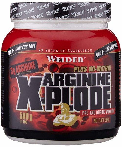 Weider Arginine X-Plode (500g Dose)