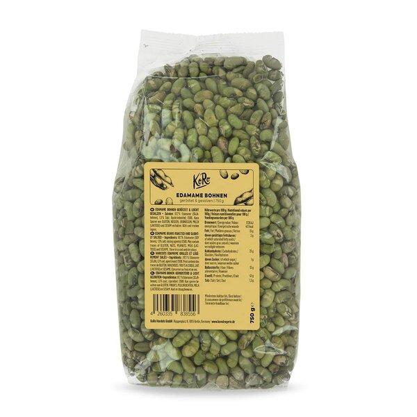 KoRo Edamame Bohnen geröstet & gesalzen 750 g