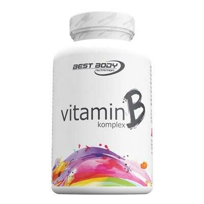 Best Body Nutrition Vitamin B Komplex 100 Kapseln Dose
