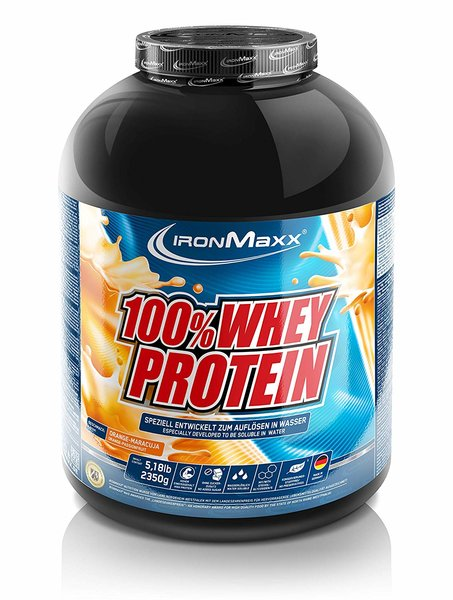 Ironmaxx 100% Whey Protein*, 2.35kg (große Dose)