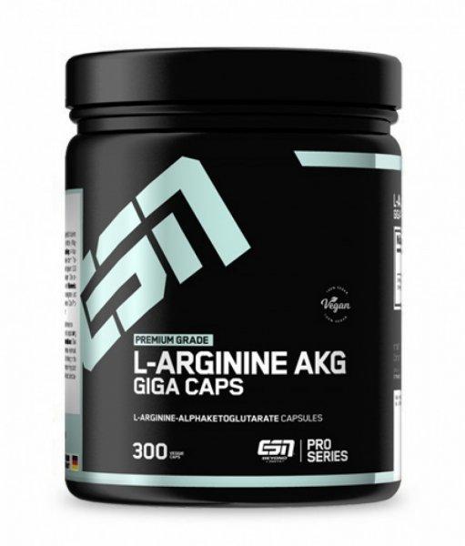 ESN L-Arginine AKG Giga Caps, 300 Kapseln Dose