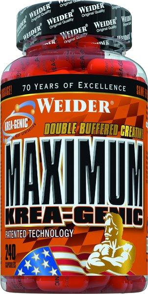 Weider Maximum KREA-Genic 240 Kapseln a 750mg