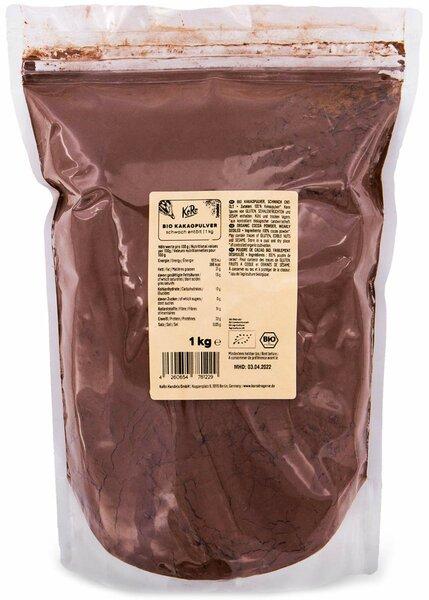 KoRo - Bio Kakao Pulver schwach entölt 1 kg