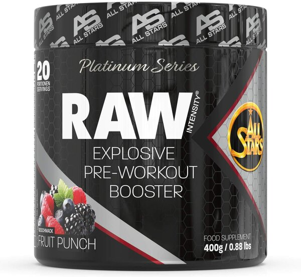 All Stars Raw Intensity Expiosive Pre-Workout Booster 400g