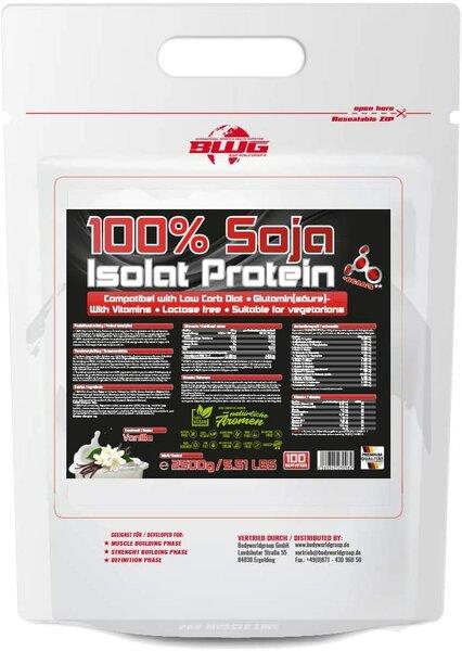 BWG Soja Isolat - Protein Eiweiss, 2.5kg