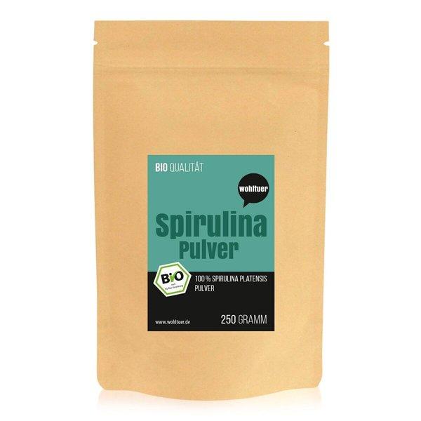Wohltuer Bio-Spirulina A Qualität 250g (PULVER)