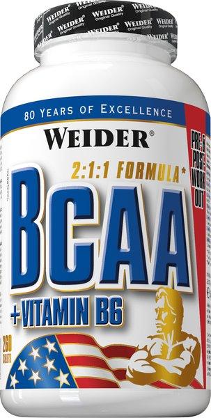 Weider BCAA 260 Tabletten