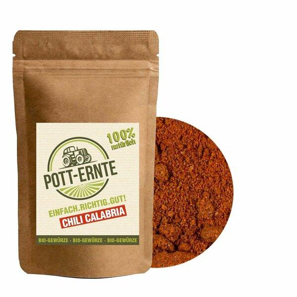 Pott-Ernte Bio Chili Calabria 100g mit DOSE