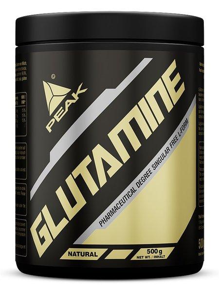 Peak Glutamin Pulver 500 Dose