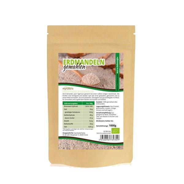 Mynatura Bio Erdmandelmehl Glutenfre Cholesterinfrei 1000g