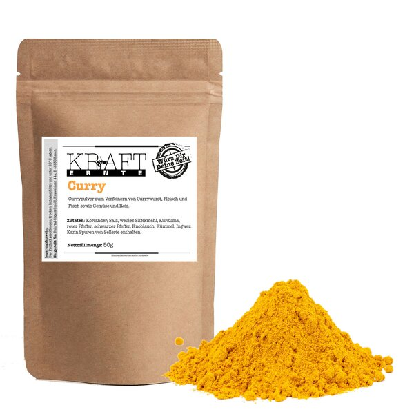 Kraft-Ernte Curry mild 50g