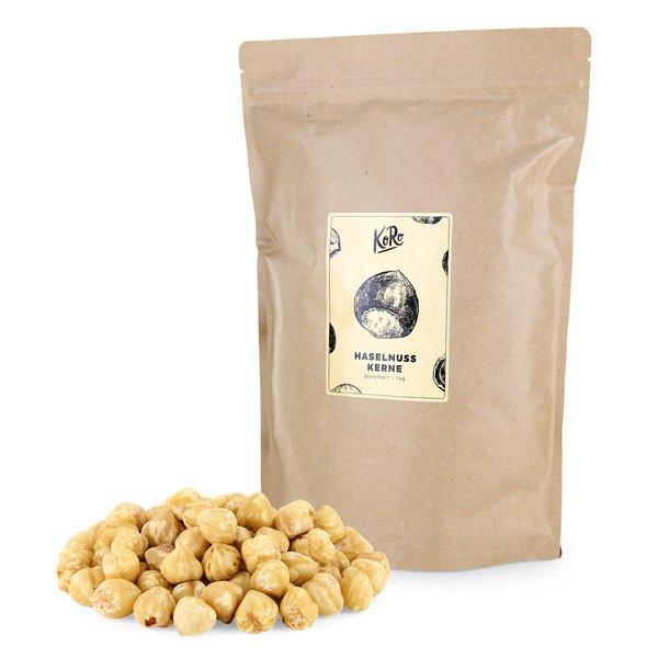 Koro Haselnusskerne blanchiert | 1 kg 100% Natur
