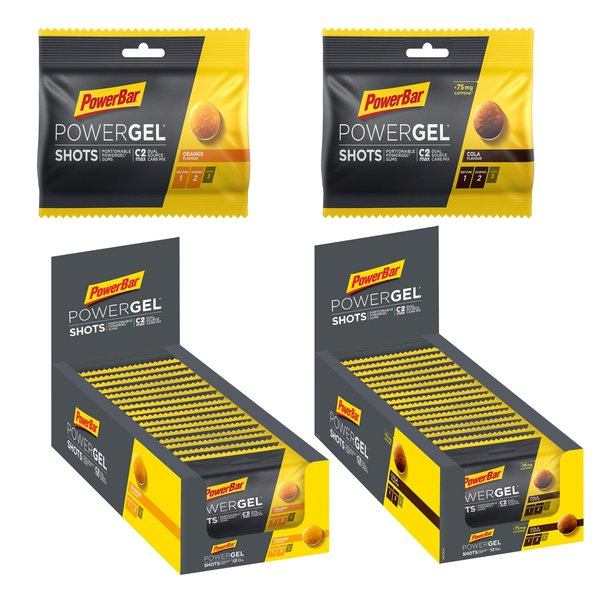 PowerBar Ride Gel Shots, 16 x 60g Beutel BOX