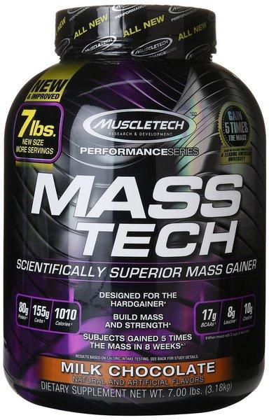 Muscletech Mass-Tech Weight Gainer 3,18kg