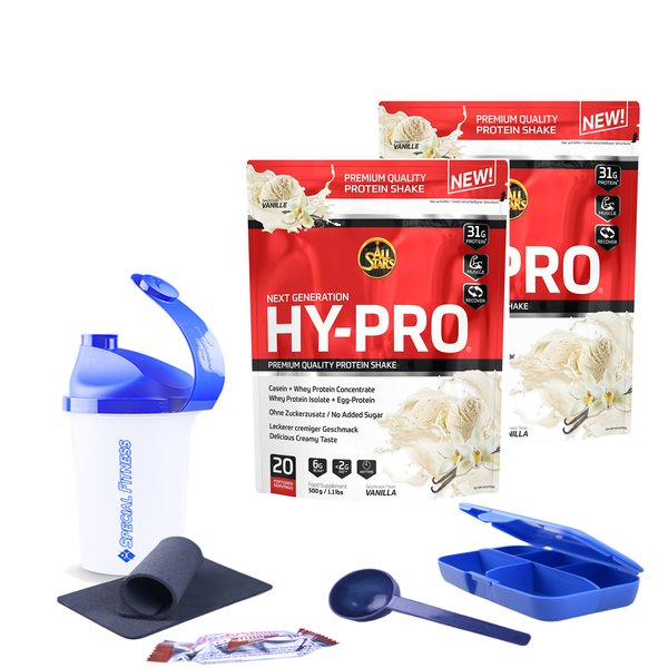 All Stars Hy-Pro 85 Protein Whey+ EGG, 2 x 500g Beutel