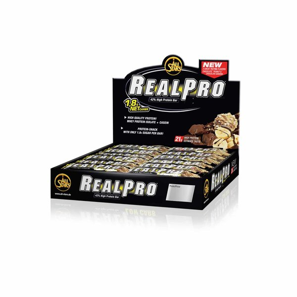 All Stars REAL PRO, 24 x 50g Riegel