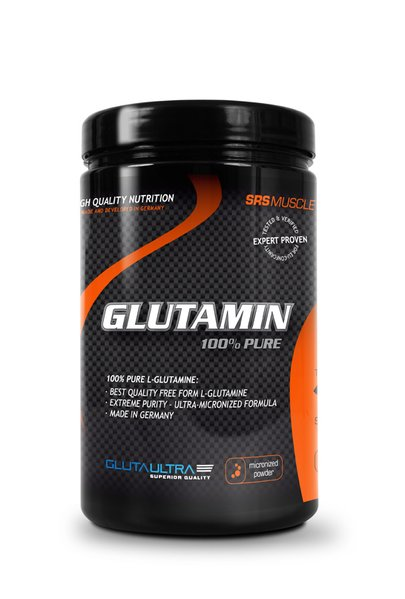 SRS Glutamin Pure Fitness Qualität 500 g Dose