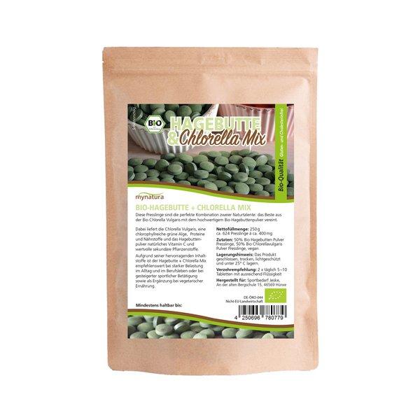 Mynatura Hagebutte & Chlorella Mix 250g