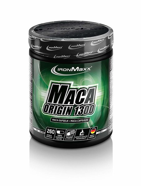 Ironmaxx Maca Origin 1300 TRICAPS, 260 Kapseln a.1460mg