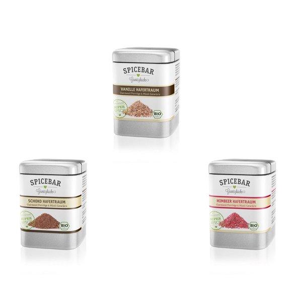 Spicebar Gewürz süß für Porridge, Oatmeal und Müsli, Bio (1 x 70g )