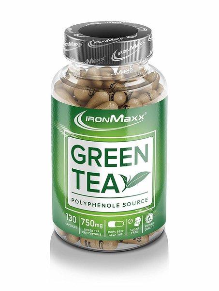 Ironmaxx Green-Tea (Grüntee), 130 Kapseln
