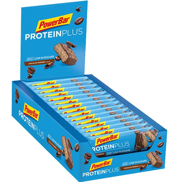 PowerBar Protein Plus Low Suger (30 Riegel à 35g Box)