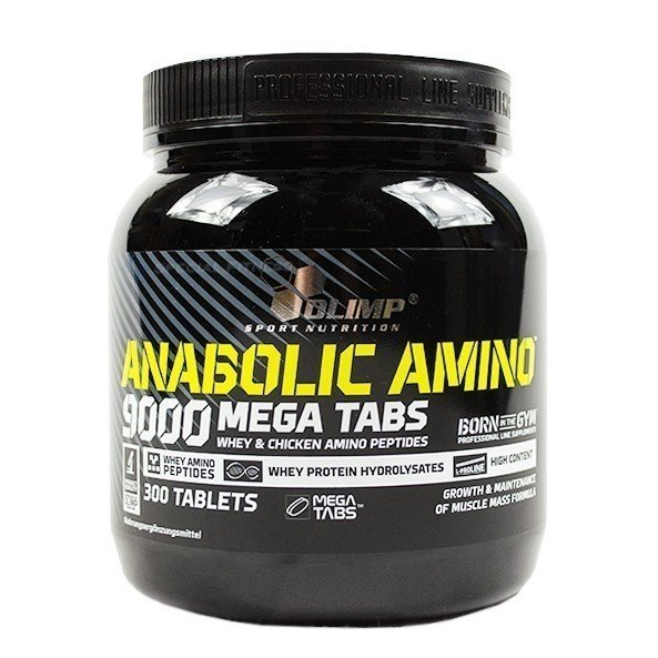 Olimp Amino 9000 Mega Caps 300 Tabletten