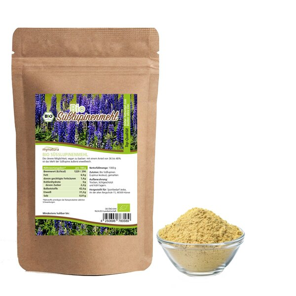 mynatura Bio Süßupinenmehl 1kg