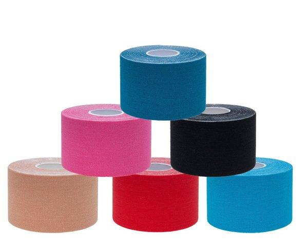 Bodyworks Kinesiologie Physio Sport Tape 1x 5cm X 4,5m verschiedene Farben