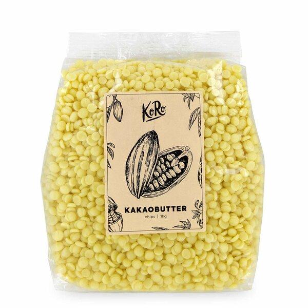 Koro Bio Kakaobutter Chips 1 kg