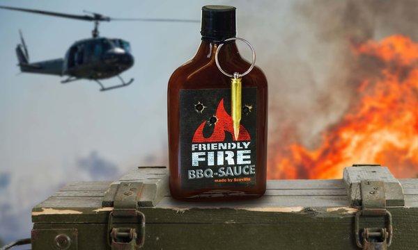 Scovillas FRIENDLY FIRE BBQ Sauce 235ml