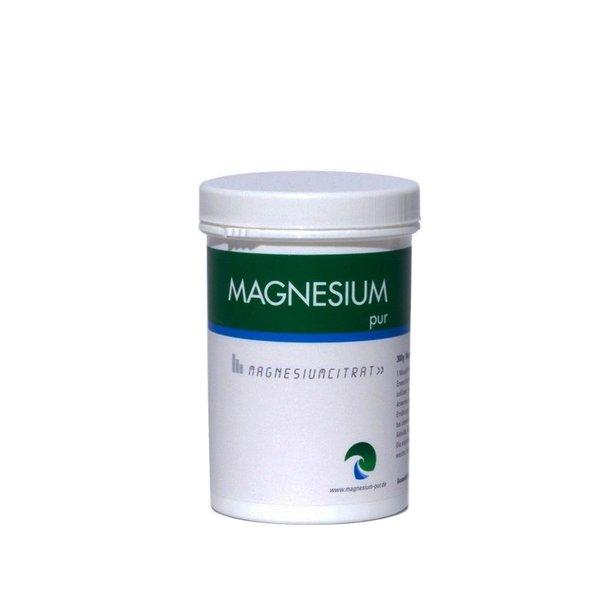 Magnesium Pur Pulver 300g Dose PULVER Citrat Magnesiumcitrat