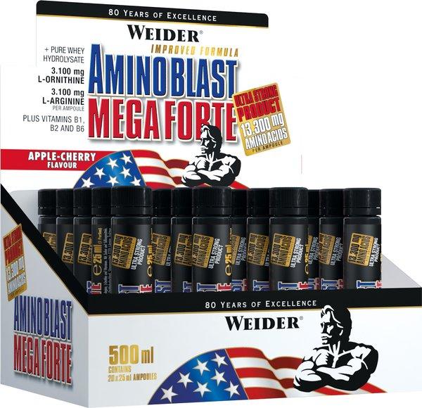 Weider Amino Blast Mega Forte (20 x 25ml Ampullen)